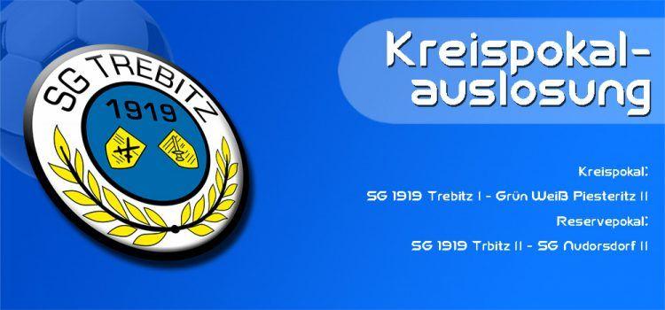 KFV Kreispokal, Werbou.de Kreispokal, SG Trebitz, Reservepokal Wittenberg, Pokal zum goldenen Anker